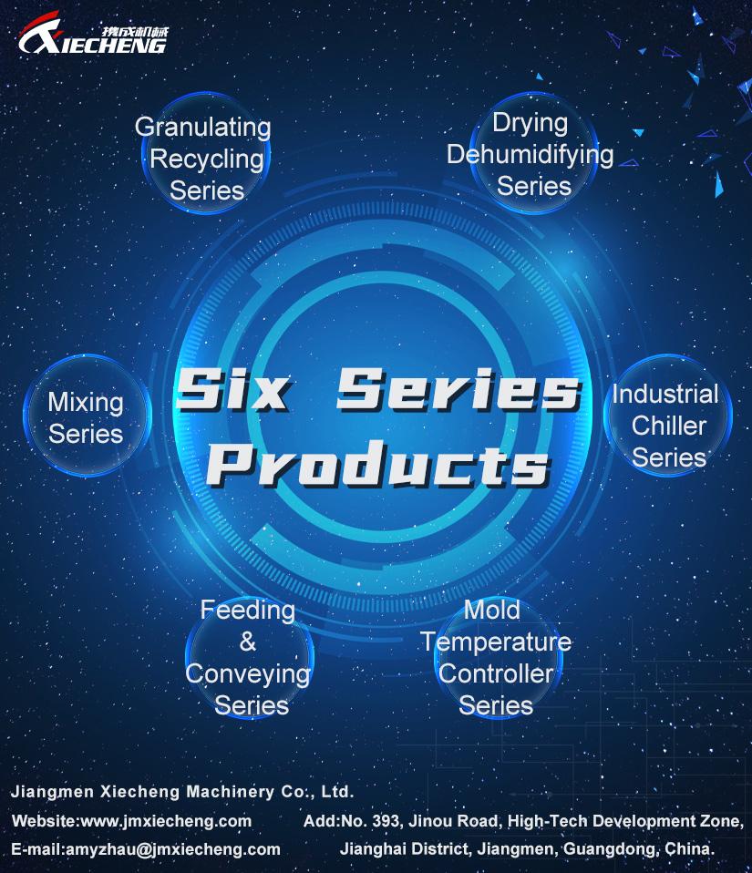 Seis series de productos